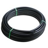 Tuyau polyéthylène basse densité 6 bar Cap Vert - Diamètre extérieur 16 mm - Longueur 100 m