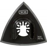 Plateau de ponçage auto-agrippant outil multifonction SCID - Longueur 93 mm