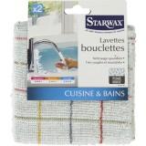 Lavette bouclettes Starwax - Vendu par 2