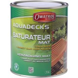 Saturateur universel Aquadecks Owatrol - Gris - 1 l