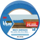 Ruban de masquage multi-surfaces Blue Scotch - Longueur 55 m - Largeur 48 mm