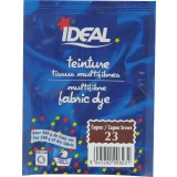 Teinture tissu main-machine Ideal - Sachet 15 g - Cognac n°23