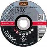 Disque abrasif type Silver SCID - Métaux - Diamètre 125 mm