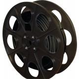 Câble U-1000 R2V noir mètré 2,5 mm² Dhome - Demi Touret - Longueur 50 m