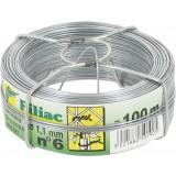 Fil galvanisé Filiac - Longueur 100 m - Diamètre 1,1 mm