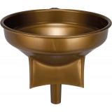 Entonnoir de cave - Plastique bronze - Diamètre 42 cm