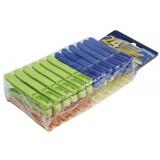 Pince à linge plastique Laguelle - Ergonomique - Incassable - Anti-uv - Vendu par 24
