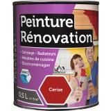 Peinture rénovation multi-surfaces Batir - Boîte 0,5 l - Cerise