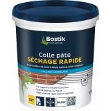 Colle pâte carrelage - 1,5 kg - Sol et mur - Intérieur - Sechage rapide D2T - Prêt à l'emploi - Bostik