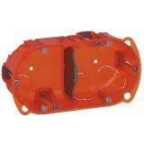 Boîte multimatériaux Legrand - 2 postes - Profondeur 50 mm