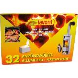 Allume barbecue-cheminée Favorit - Vendu par 32