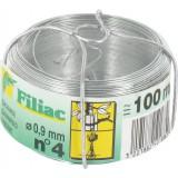 Fil galvanisé Filiac - Longueur 100 m - Diamètre 0,9 mm