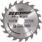 Lame au carbure pour scie circulaire SCID - Epaisseur 2,8 mm - 20 dents - Diamètre 190 mm - Alésage 30 mm