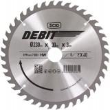 Lame au carbure pour scie circulaire SCID - Epaisseur 3 mm - 40 dents - Diamètre 230 mm - Alésage 30 mm