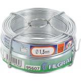 Bobinot galvanisé - Longueur 50 m - Diamètre 1,5 mm