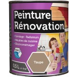 Peinture rénovation multi-surfaces Batir - Boîte 0,5 l - Taupe