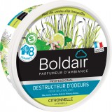 Destructeur d'odeur Boldair - Citronnelle - 300 g