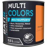 Peinture multi-supports satin soyeux Batir - Zeste d'été - 0,5 l