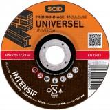 Disque abrasif universel SCID - Diamètre 125 mm