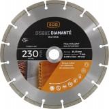 Disque diamanté polyvalent matériaux SCID - Diamètre 230 mm
