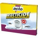 Mouches-moustiques cassette Acto - Insecticide - 20 g
