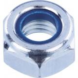 Ecrou hexagonal indesserrable acier zingué  - Diamètre 10mm - 4pces - Fixpro