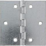 Charnière carrée fer zingué Strauss Vonderweidt - Hauteur 70 mm - Largeur 70 mm - Vendu par 2