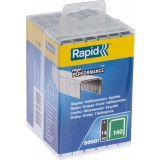 Agrafe n°140 Rapid Agraf - Hauteur 14 mm - 5000 agrafes