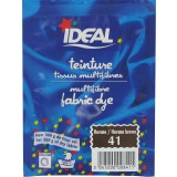 Teinture tissu main-machine Ideal - Sachet 15 g - Havane n°41