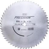 Lame chrome vanadium pour machines stationnaires SCID - Epaisseur 2,8 mm - 56 dents - Diamètre 550 mm - Alésage 30 mm