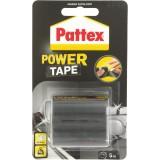 Adhésif super puissant Power tape Power Tape - Noir - Longueur 5 m