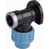 Applique murale pour robinet Cap Vert - Filetage 15 x 21 mm - Diamètre 20 mm