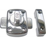 Targette bouton tournant zamac Strauss Vonderweidt - Chromé - Longueur 40 mm