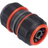 Raccord réparateur Lock de tuyau d'arrosage - Bi-matière - Diamètre 15 mm