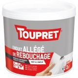 Enduit allégé de rebouchage Toupret - 2 l