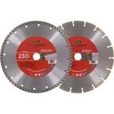 Lot de 2 disques matériaux