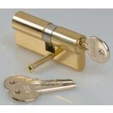 Cylindre de sureté asymétrique Carmine - Dimensions 30 x 50 mm