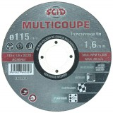 Disque multicoupe SCID - Diamètre 115 mm