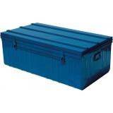 Cantine métal laquée - Longueur 1000 mm - Bleu