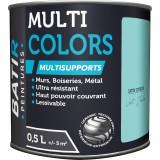 Peinture multi-supports satin soyeux Batir - Vert jade - 0,5 l