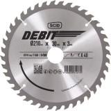 Lame au carbure pour scie circulaire SCID - Epaisseur 3 mm - 40 dents - Diamètre 210 mm - Alésage 30 mm