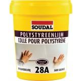 Colle pâte pour polystyrène 28A Soudal - Pot 1 kg