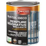 Peinture Rustol Déco Owatrol - Blanc - 750 ml