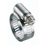 Collier à bande Cap Vert - Diamètre 14 - 22 mm - Largeur 14 mm - Vendu par 2