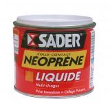 Colle néoprène contact liquide Sader - Boîte 500 ml