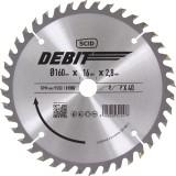 Lame au carbure pour scie circulaire SCID - Epaisseur 2,8 mm - 40 dents - Diamètre 160 mm - Alésage 16 mm