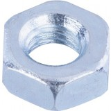 Ecrou hexagonal acier zingué  - Ø4mm - 30pces - Fixpro