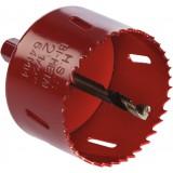 Trépan HSS bimétal avec foret centreur SCID - Diamètre 68 mm