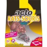 Rat - souris pâte Acto - 15 sachets de 10 g