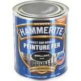 Peinture brillante Hammerite - Boîte 750 ml - Noir